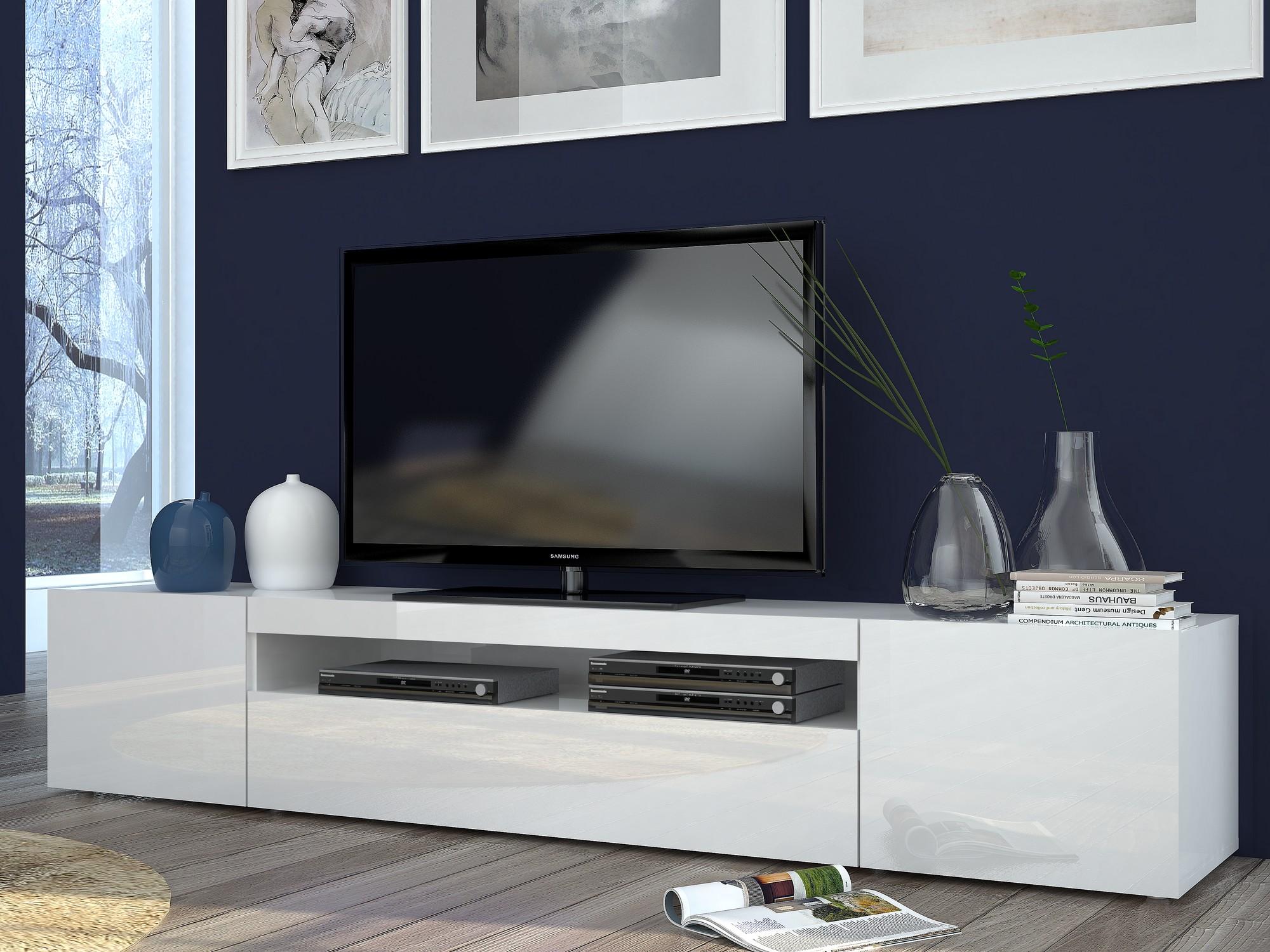 761011 tv stand tecnos italy for Mobili porta tv moderni economici